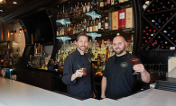Joe Ehlenz and Brad Nordeen, founders of LoLo American Kitchen