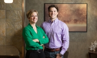 Dr. Sarah Carlson and Dr. Michael Rohlf of Carlson Dental Group