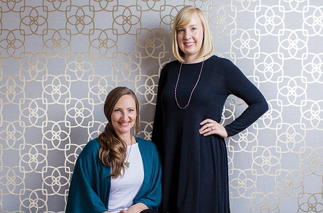 Monica Veil, D.C., and Anna Anderson, D.C., founders of Revival Chiropractic in Stillwater.