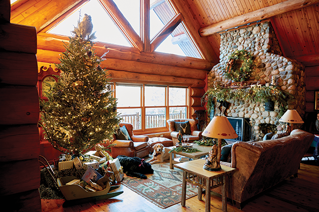 The Christmas Lodge.Christmas At The Lodge St Croix Valley