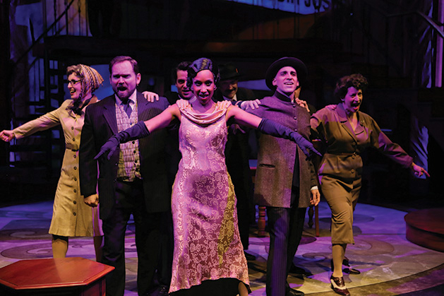 """A performance of """"Dirty Business"""" at History Theatre in St. Paul"""