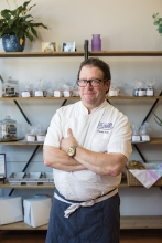 St. Croix Baking Company owner, chef Charles Froke
