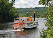 A boat cruise on the St. Croix River.
