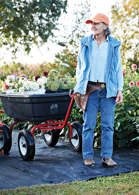 Susan Rockwood of Arcola Trail Flower Farms