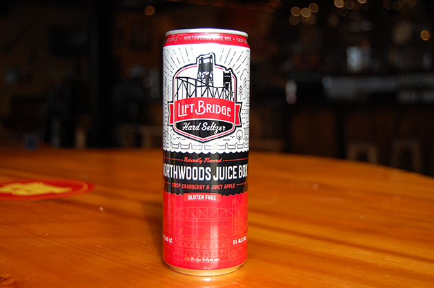 Lift Bridge Brewing Co. Northwoods Juicebox hard seltzer