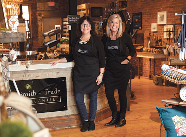 Kelli Kaufer and Erin Quast, founders of Smith + Trade Mercantile